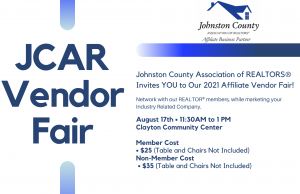 Affiliate Vendor Fair @ Clayton Community Center